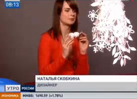 РТР «Доброе Утро Россия» (эфир 14/04/2008)